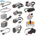 Pièces techniques pour Legoeds Lego blocs de construction servomoteur boîte de batterie 2.4G télécommande infrarouge récepteur PF modèle ensembles
