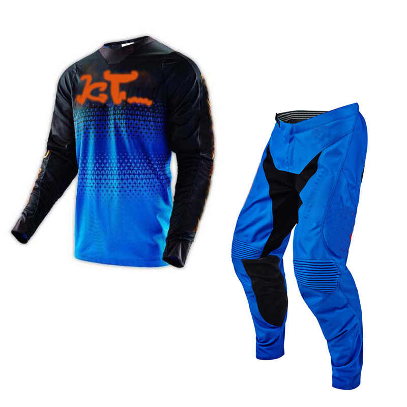 Motocross pantalon et maillot un ensemble Moto costumes Kit descente Dirt Bike Duke Moto Mx costumes de course