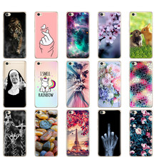 Silicon Case For Xiaomi Redmi Note 5A Case Painting Soft TPU Back Phone Cover for Redmi Note 5 A Full Protection Coque Bumper(China)