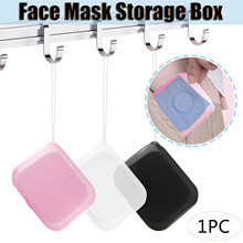Portable Face Mask Storage Bag Pollution Prevention Not Including Face Mask Foldable Disposable Face Mask Holder Mascarillas