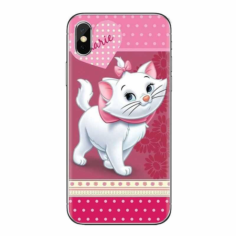 """""""Arystokratów"""" kot kitty dla Xiao mi czerwony mi 4 3 3S Pro mi 3 mi 4 mi 4i mi 4C mi 5 mi 5S mi Max uwaga 2 3 4 miękkie przezroczyste okładki"""