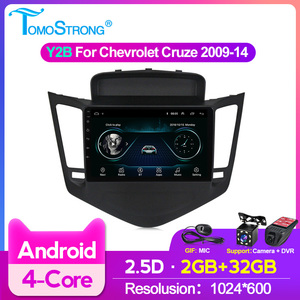 Auto radio Android 2.5D HD screen For 2009-2014 Chevrolet Cruze 9inch Car radio player SWC Multimedia GPS FM/AM Navigation 2din