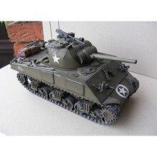 1:25 Американский Шерман M4A3 средний танк emulatory DIY 3D бумажная карта Модель Строительный набор образовательных военных моделей строительные игрушки