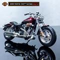 Maisto новая модель 1:18 HARLEY-DAVIDSON 2009 FXDFSE CVO из сплава, модель мотоцикла, реальная игрушка для детей, подарки, коллекция игрушек