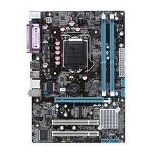 Intel P55 Socket LGA 1156 Motherboard Micro ATX 8 GB 2 DDR3 1066 1333 / 1600 Mhz PCI-E For Xeon Core i7 i5 i3 Pentium intel core xeon x3450 8m cache 2 66mhz torbu frequency 3 2mhz lga 1156 p55 h55 equal