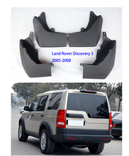 Auto Mud Flaps For Land Rover splash guards For Discovery mudflaps For Land Rover Discovery 3 car Fender in 2005-2008 цены