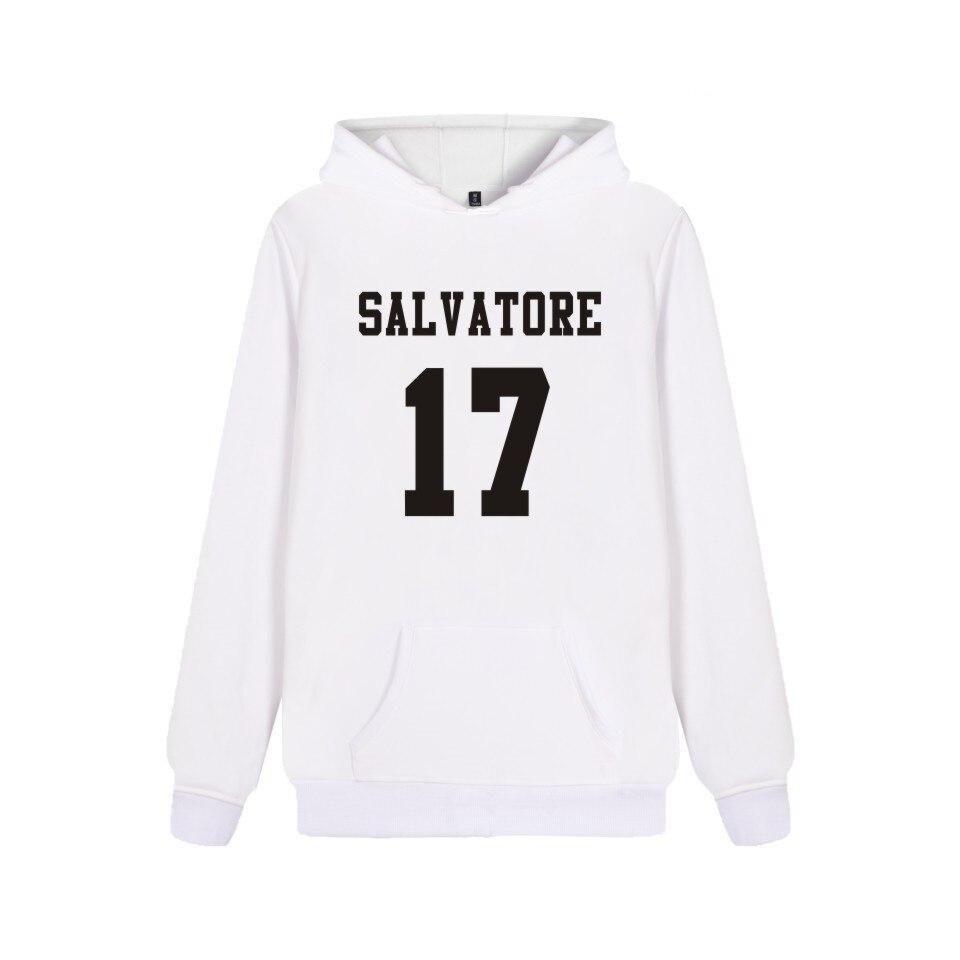 Unisex Hoodie Salvatore 17 Print High Quality Sweatshirt Men Women Fashion Pocket Pullover Salvatore 17 Harajuku Top Streetwear