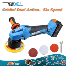 Newone 20v max orbital ângulo polisher 9mm/0.35 \