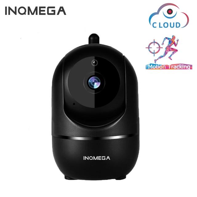 Inqmega-Câmera sem fio inteligente IP HD 1080P de nuvem, rastreamento automático de segurança em residência humana, câmera WiFi de rede CCTV 1