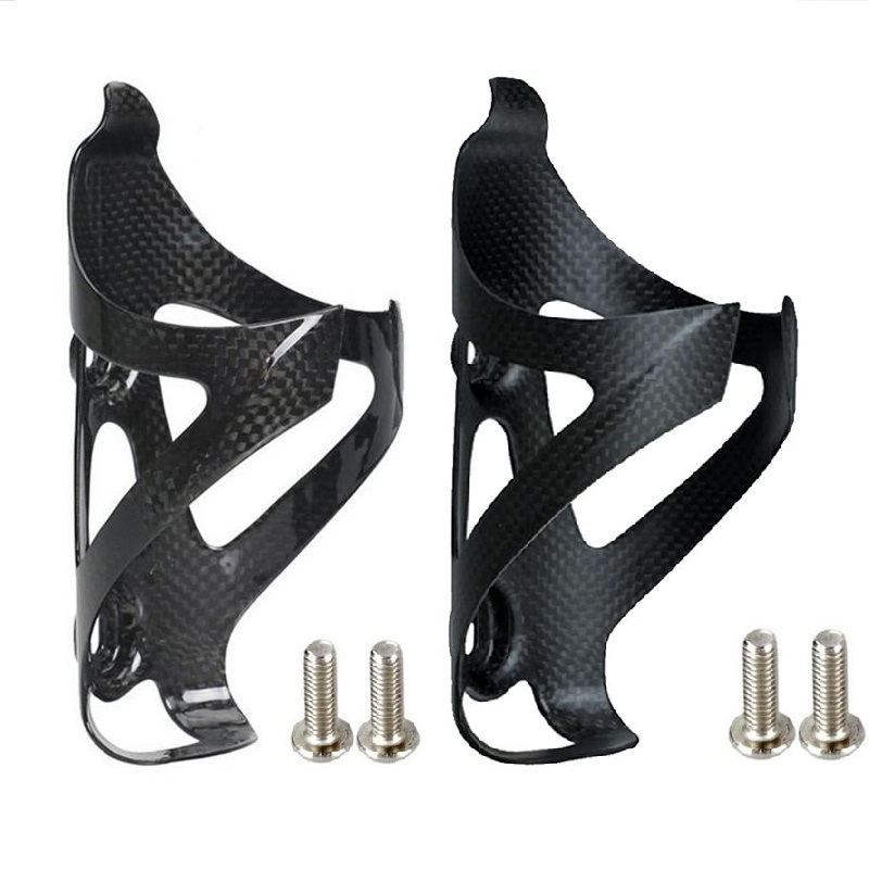 2020 Hot Sale Full Carbon Fiber Bicycle Water Bottle Cage MTB Road Bike Botelle Holder Ultra Light Cycle Equipment Matte/ Glossy