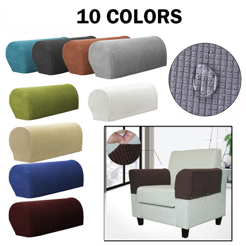 1 Pair Removable Sofa Armrest Covers Sofa Towel Sofa Couch Chair Protector Armchair Covers House Supplies Furniture Sofa Cover
