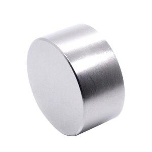 Качественный 1 шт. N52 неодимовый магнит 50х30мм металлический Галлий супер сильные магниты 50х30 большой круглый мощный постоянный магнит 50х30