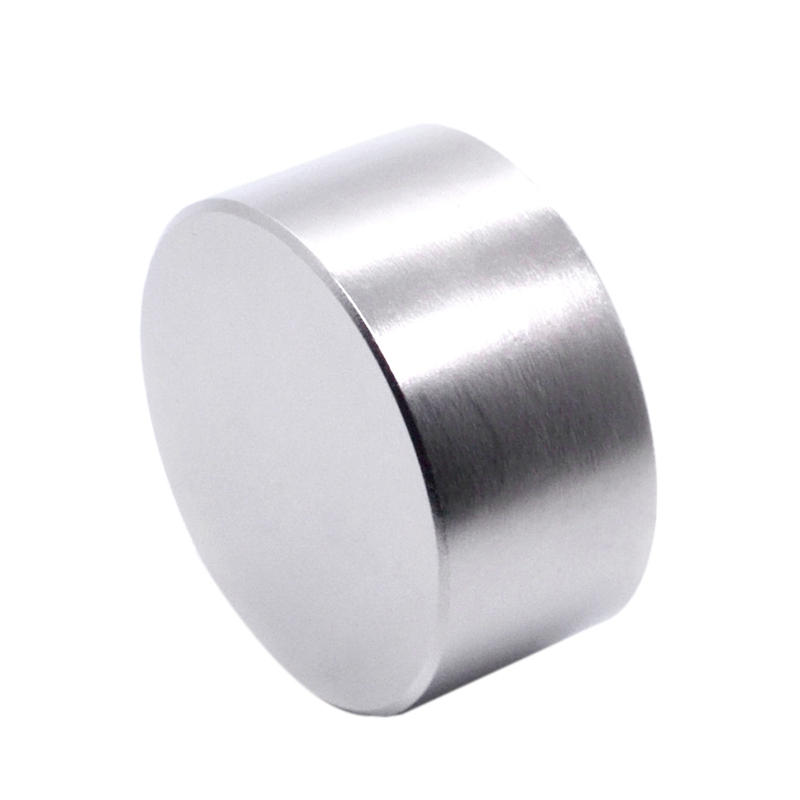 Quality 1Pcs <font><b>N52</b></font> Neodymium Magnet 50X30Mm Gallium Metal Super Strong Magnets <font><b>50x30</b></font> Big Round Powerful Permanent Magnetic 50 X 30 image