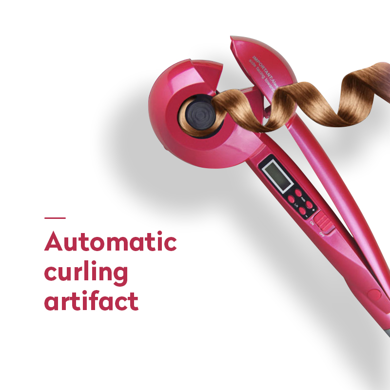 LCD Professional Automatic Hair Curler Styling Tools Female Curlers Curling Wand Ceramic Heating Care Wave Curl Iron Anti-perm 4