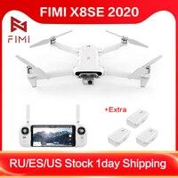 FIMI X8 SE Drone X8SE 2020 RC Drone helicóptero 8KM FPV 3 ejes cardán 4K Cámara Full HD GPS RC Drone Quadcopter RTF