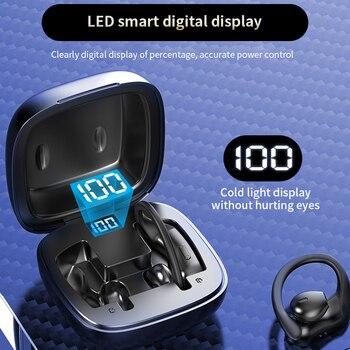 TWS Bluetooth 5.0 Earphones Wireless Bluetooth Headphone Noise Cancelling 9D HiFi Stereo Sport Heads