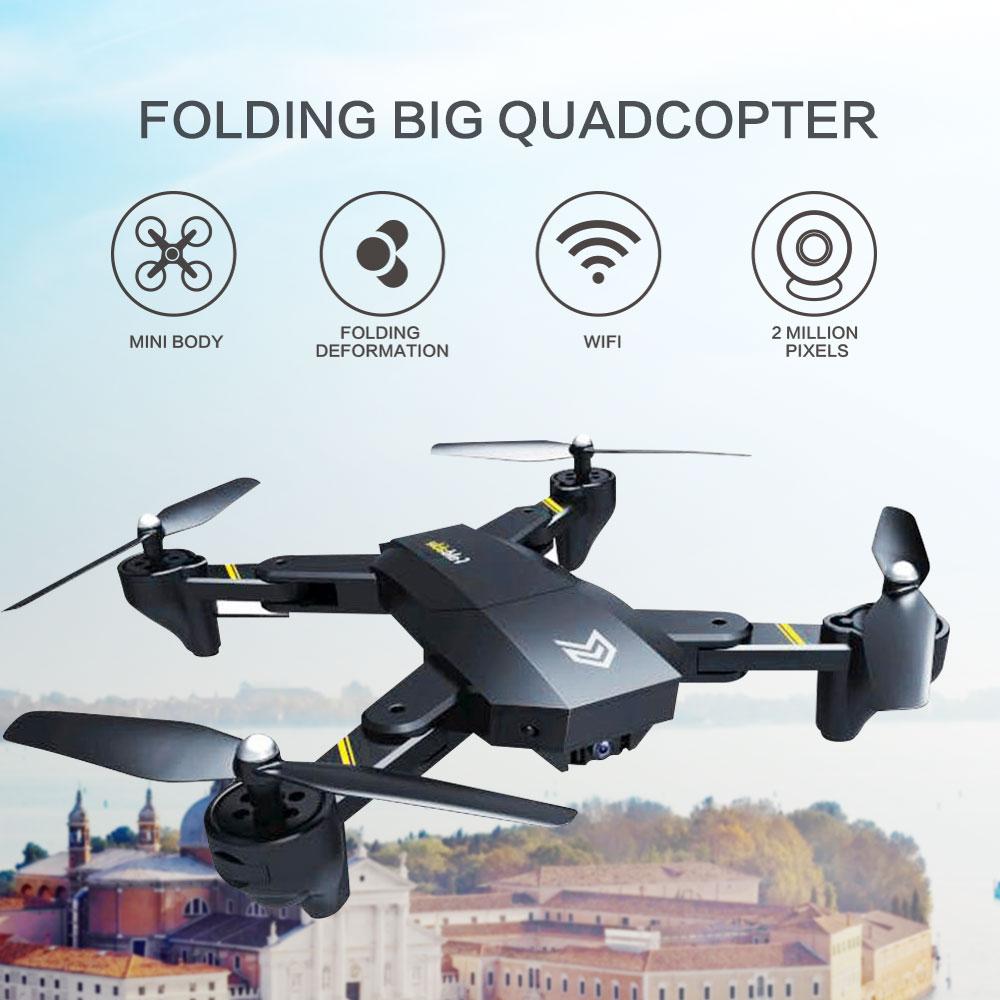 S25 wifi fpv com 720 p hd câmera aeronaves posicionamento braço dobrável selfie dron rc quadcopter drone rtf vs xs809hw sg106