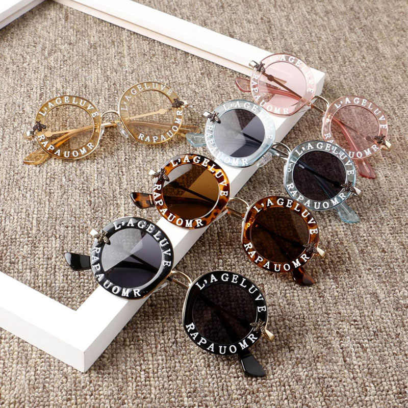 2020 New Infant Kids Baby Girls Boys Fashion Sunglasses Letter Solid Sun Glasses 12 Colors Outdoor Beach protection Accessories