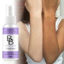 Новое поступление 50 мл BB крем спрей уход за лицом основа BB крем макияж Осветляющий консилер крем отбеливающий спрей