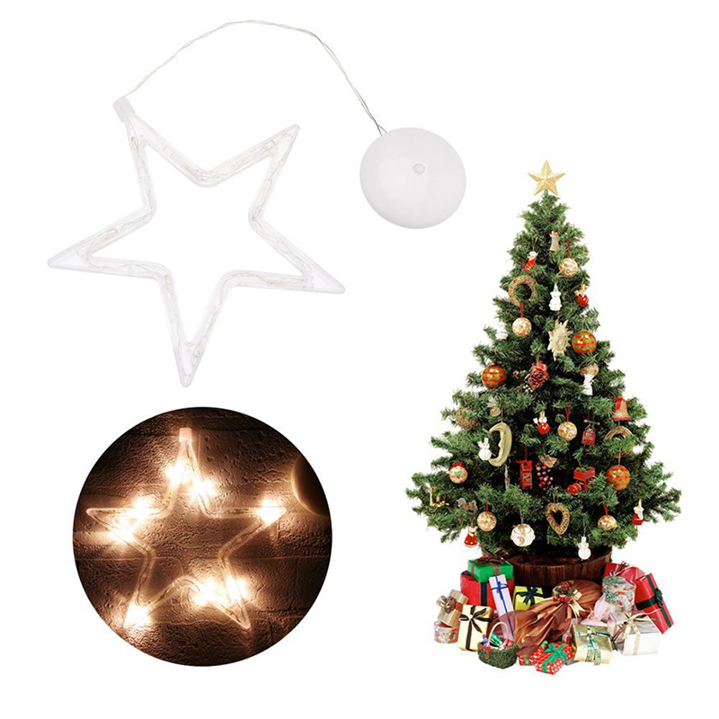 Christmas Tree Elk Bells LED Light Decoration Lighting Christmas Decorations Accessories