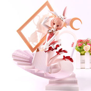 FairyTale Another Alice Anime Figure White Rabbit Statue Another Alice Action Figure PVC Collectible Model Toy