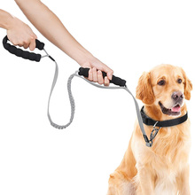 New pet rope leash reflective band dog  Nylon long elastic Durable lead supplies products