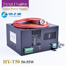 Laser-Power-Supply HY-T50 Laser-Cutting-Machine-Parts Source CO2 220V Startnow for 50W