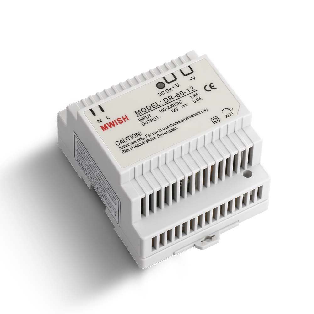 Din rail power supply 60w 12V ac dc converter dr-60-12 power supply 12v 60w good quality