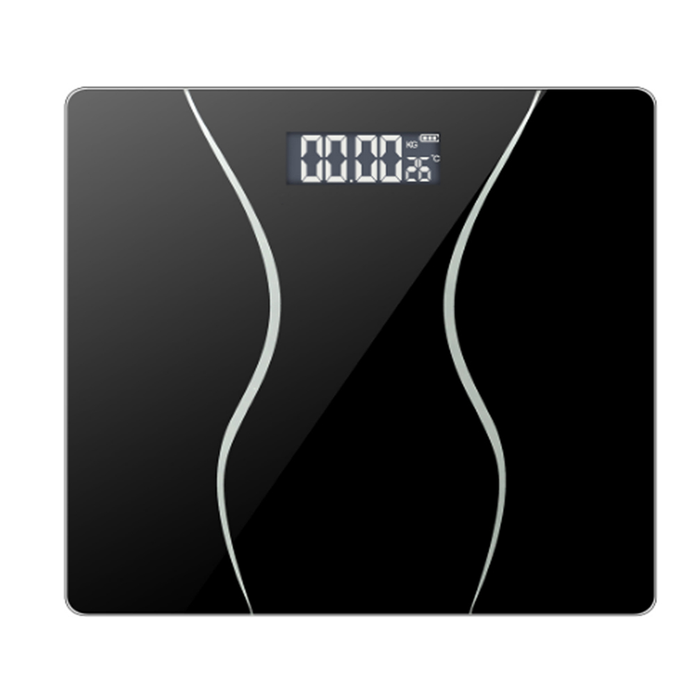 Bathroom Glass Body <font><b>Scale</b></font> <font><b>0.01g</b></font> Smart Household Electronic LCD Display <font><b>Digital</b></font> Floor <font><b>Weight</b></font> Balance Weighing 180 KG image