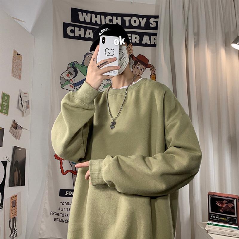 LEGIBLE 2021 Autumn Woman's Hoodies Oversize Female Loose Cotton Solid Thicken Warm Women Sweatshirts Lady Fashion Plus Size 5XL