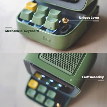 Divoom Ditoo Retro Pixel art Bluetooth Portable Speaker Alarm Clock DIY LED Screen By APP Electronic Gadget gift Home decoration 4