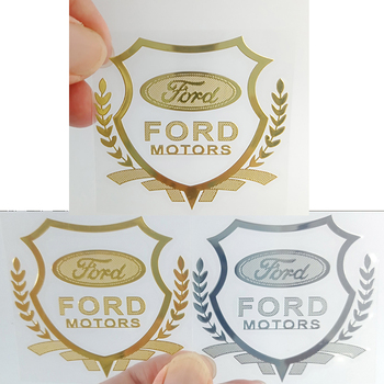 1 PCs 3D Metal Car Sticker Emblem Case With Badge For Fords Focus 2 3 1 MK2 MK3 MK1 Fusion Car Accessories Styling image