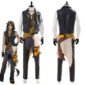 Витая Wonderland Leona Kingscholar Косплей Костюм Хэллоуин Карнавал наряды для взрослых мужчин