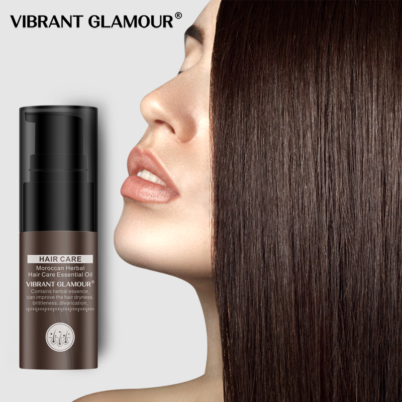 VIBRANT GLAMOUR Moroccan Hair care essential oil Hair Growth Essence Liquid Nourish Serum Repair Hair Growth Damaged Dry 1