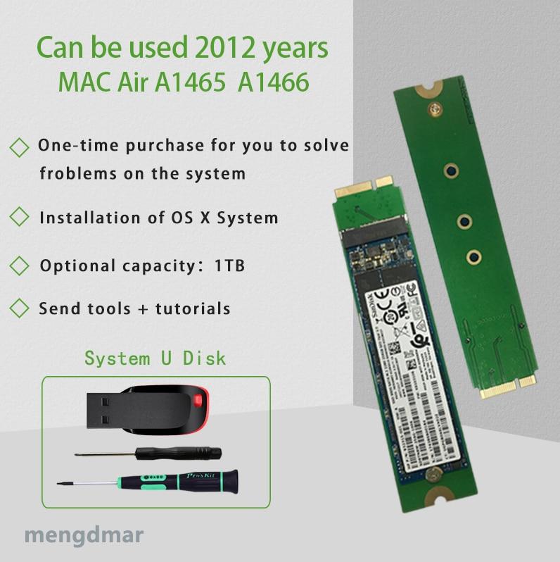 Nieuwe 1024GB 1TB SSD Voor 2012 Macbook Air A1465 A1466 SOLID STATE DISK Md231 md232 md223 md224 hard disk SSD 1000G-in Harde Schijf & Dozen van Consumentenelektronica op  Groep 1