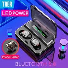 Bluetooth Earphone TWS 5.0 LED Power Display Wireless Hifi Headphones Sport in-ear Wireless Earphone