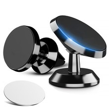 Car Phone Holder Magnetic Air Vent Magnet Mobile For Cell Mount Universal in GPS Desk Wall