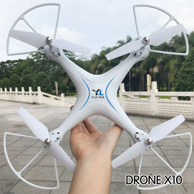 S10 With 0.3 Million WiFi Camera Remote-control Four-axis Aircraft Ultra Large Unmanned Aerial Vehicle Voice Operation Foam