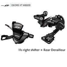 Shimano DRORE XT M8000 11 מהירות טריגר שיפטר + 11 מהירות אחורי Derailleurs MTB SL M8000 RD M8000 GS/SGS