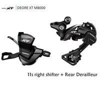 Shimano DRORE XT M8000 11 Speed Trigger Shifter + 11 Speed Rear Derailleurs MTB SL-M8000 RD-M8000 GS/SGS
