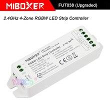 Miboxer 2,4 GHz 4-зона, RGBW светодиодный светильник, FUT038(модернизированный) DC12V~ 24V Светодиодная лампа RGBW