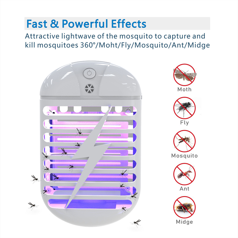 Household Pest Repeller Electronic Mosquito Killer Reject Bug Mosquito Cockroach Mice Pest Killer Repeller Home US EU UK Plug