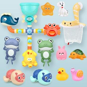 מבחר צעצועים לתינוק לאמבטיה