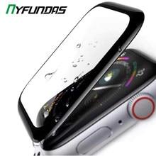 Protecteur d'écran pour montre Apple Watch, Film en verre trempé pour iwatch série 5 4 3 2 1 44mm 40mm 42mm 38mm 38 40 42 44mm