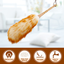 Electrostatic Dust Removal Wool Duster Household Car Cleaning Sweeping L99
