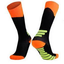 Спортивные носки для езды на велосипеде, впитывающие пот, эластичные Компрессионные спортивные, на открытом воздухе, на велосипеде и т. Д. Носки