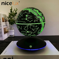 Colorful Constellation Magnetic Levitation Floating Electronic Moon Lamp Novelty Ball Night Light Birthday Lampara Luminaria