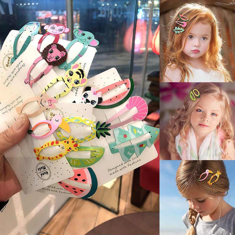Kawaii Dos Desenhos Animados de Frutas BB Clipe Bebê Crianças Grampos de Cabelo Bobby Pin Barrettes Acessórios de cabelo Para Meninas Crianças Grampos de Cabelo Grampo de cabelo da Mantilha