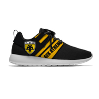 Breathable Men/Women Running Shoes Athens Lightweight Sport Shoes Football Club AEK Fans FC Soccer Casual Sneakers