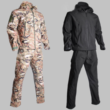 Trekking Jacket Fishing Softshell Waterproof Suits Climb Outdoor Winter Camouflage Man